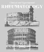Cover Clinical and Experimental Rheumatology