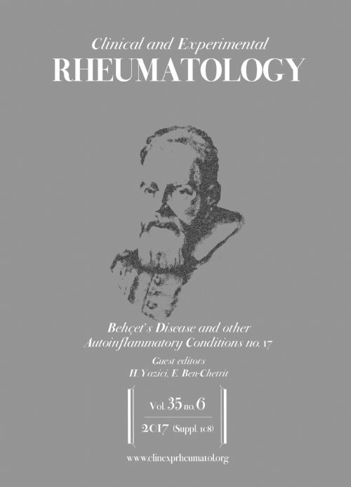 Behçet's Disease and other Autoinflammatory Conditions - No. 17