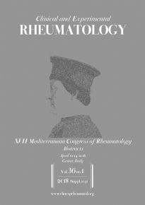 XVII Mediterranean Congress of Rheumatology - Abstracts